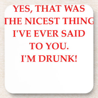 DRUNk Beverage Coasters