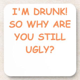 drunk beverage coaster