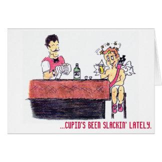 Drunk Cupid - Valentine's Card