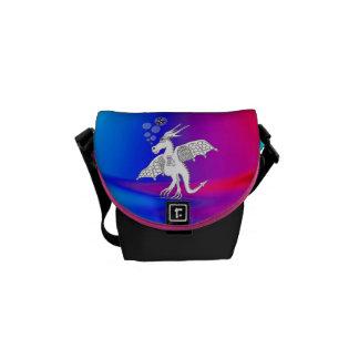 drunk dragon Rickshaw mini messenger bag