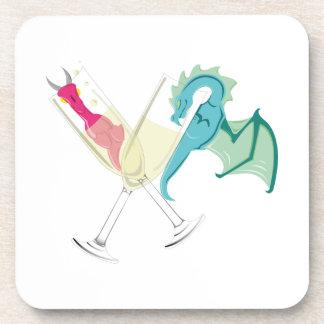 Drunk Dragons Coaster