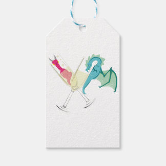 Drunk Dragons Gift Tags