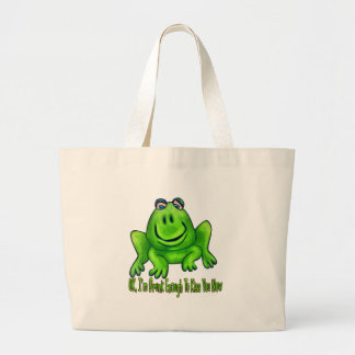 Drunk Enought Large Tote Bag