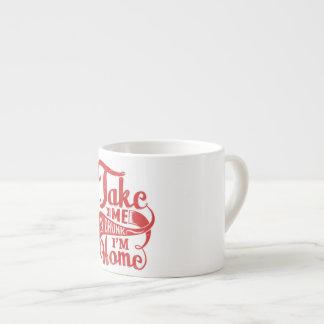 drunk espresso cup