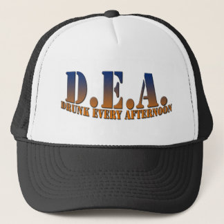 Drunk Every Afternoon - Low Arc Trucker Hat