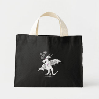 drunk festival dragon tote bag