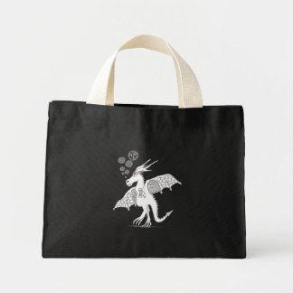 drunk festival dragon mini tote bag