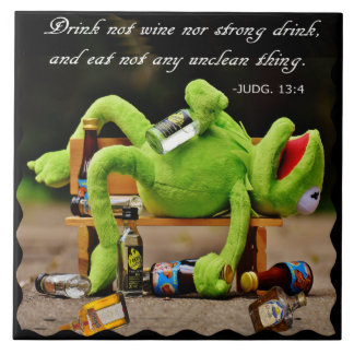 DRUNK FROG-TILE TILE