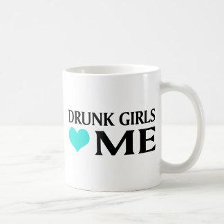 Drunk Girls Love Me Classic White Coffee Mug