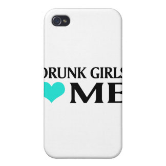 Drunk Girls Love Me Cover For iPhone 4