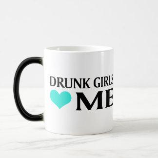 Drunk Girls Love Me 11 Oz Magic Heat Color-Changing Coffee Mug