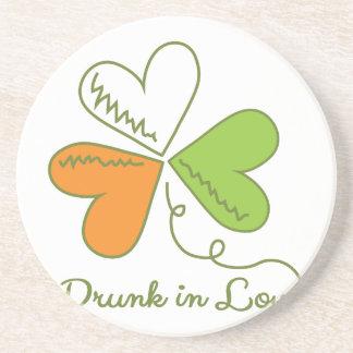 Drunk In Love Drink Coasters