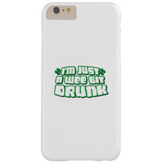 Drunk Irish Beer Funny St. Patrick's Day Barely There iPhone 6 Plus Case
