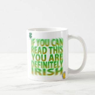 Drunk Irish Mug
