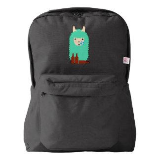 Drunk Llama Emoji Backpack