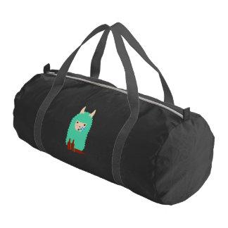 Drunk Llama Emoji Gym Bag