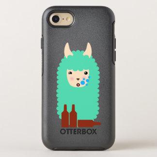 Drunk Llama Emoji OtterBox Symmetry iPhone 8/7 Case