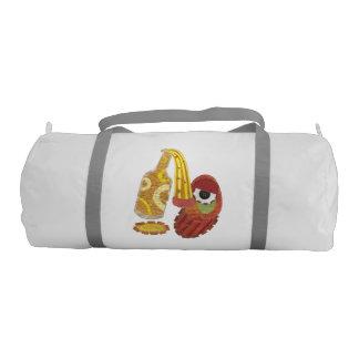 Drunk Mango Duffle Gym Bag Gym Duffel Bag