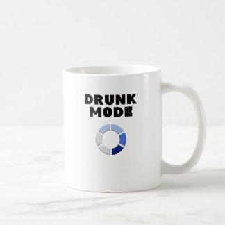 drunk mode loading, funny drinking design gift coffee mug