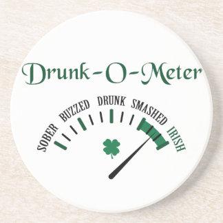 Drunk-O-Meter Drink Coasters