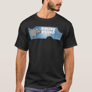 Drunk Rhino Beer T-Shirt