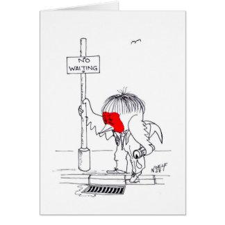 Drunk Robin Greeting Card