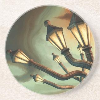 Drunk Streetlamps Drink Coasters