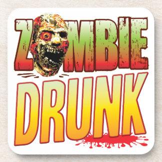 Drunk Zombie Head Drink Coaster
