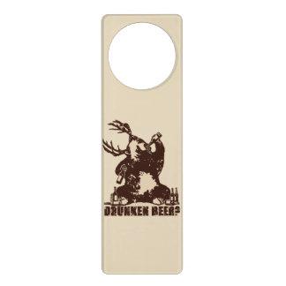 Drunken bear door hanger