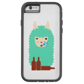 Drunken Emoji Llama (beer) Tough Xtreme iPhone 6 Case