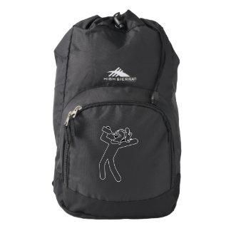 Drunken Knight Outline Backpack