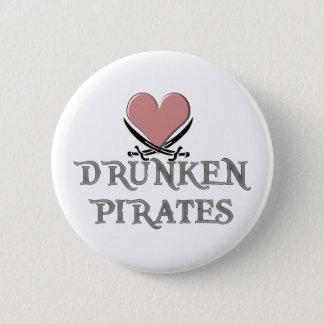 Drunken Pirate Love 6 Cm Round Badge