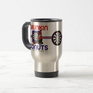 Drunkin Go Nuts Darts Team Travel Mug