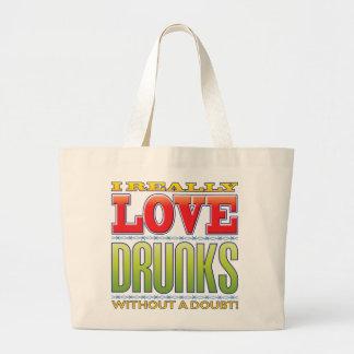 Drunks Love Tote Bags
