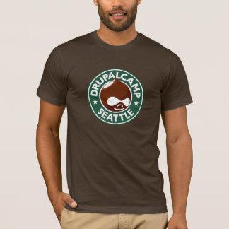 Drupal Camp Seattle - Dark Brown T-Shirt