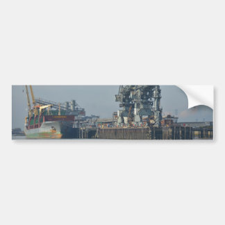 Dry Cargo Ship Mark C Bumper Sticker