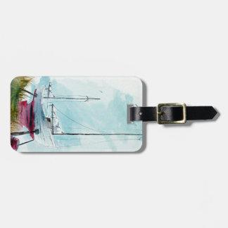 Dry Dock Sailboat Luggage tag
