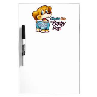 Dry Erase Board From Chester Leo: The Puppy Dog!
