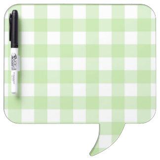 Dry-Erase Board - Lattice for Lemony White Zinnia