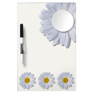 Dry-Erase Board - New Daisies on Off White
