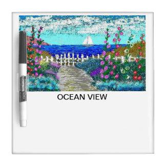 DRY ERASE BOARD - OCEAN VIEW