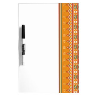 Dry Erase Boards Ikat Border Look