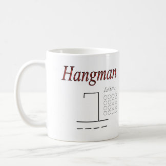 Dry Erase Hang-man mug