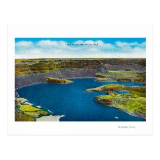 Dry Falls and Falls Lake, Grand Coulee Dam Postcard
