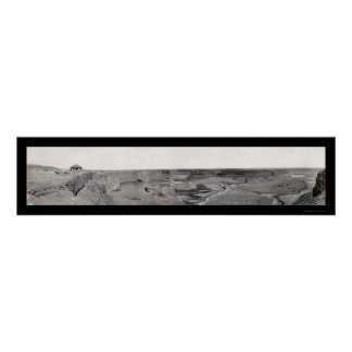 Dry Falls Grand Coulee Photo 1936 Poster
