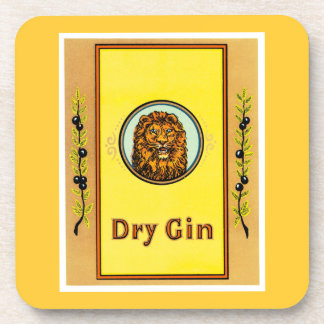 Dry Gin Lion Coaster
