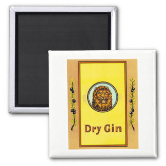 Dry Gin Lion Magnet