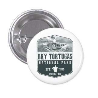 Dry Tortugas National Park 3 Cm Round Badge