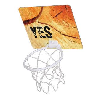 Dry Wood Is Necessary Mini Basketball Hoop