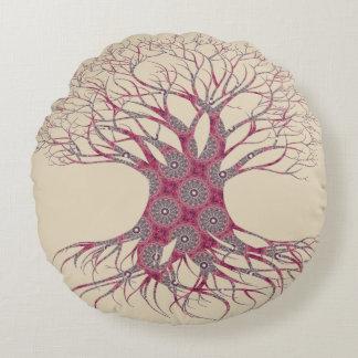 Dryad Tree (save) Round Cushion